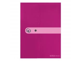 Herlitz Obal na dokumenty PP A4 ružový