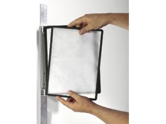 Durable Nástenný držiak VARIO s 5 panelmi