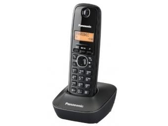 Panasonic KX-TG1611FXH Bezdr. telefón, sivá