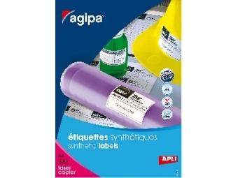 AGIPA Etikety PES laser 210x148,5mm (bal=100ks)