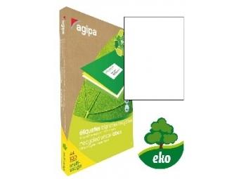 AGIPA Etikety univerzálne recyklované 210x297mm/A4 (bal=100ks)