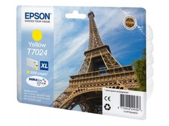 Epson T7024 Atramentová náplň Yellow XL