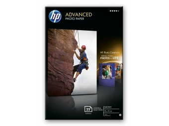 HP Advanced Glossy Photo Paper (Q8691A), 10×15cm (bal=25ks)