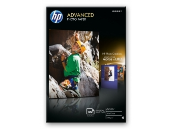HP Advanced Photo Paper Glossy (Q8692A), 10×15cm (bal=100ks)