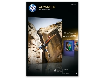 HP Advanced Glossy Photo Paper (Q8697A), A3 (bal=20ks)