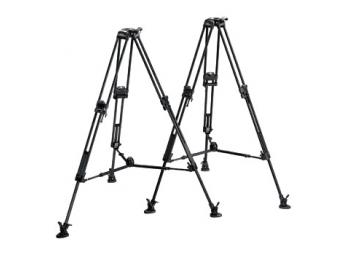 Manfrotto MA 542ART Video statív čierny karbónový, nosnosť 15kg, výška 40-152cm, bez stredového stĺpika