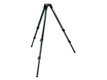 Manfrotto MA 535 Video statív 2 sekcie karbónový, nosnosť 20kg, výška 27-165cm, bez stredového stĺpika