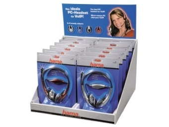 "Hama 51623 PC Headset ""HS-250"", display box, 12 kusov"