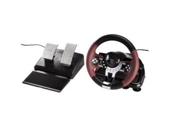 """Hama 51845 Pretekársky volant pre PS3 """"Thunder V5"""""""