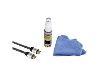 Hama 56562 HDTV set, kábel HDMI™ High Speed s etherneton 1,5 m, + čistiaci gél