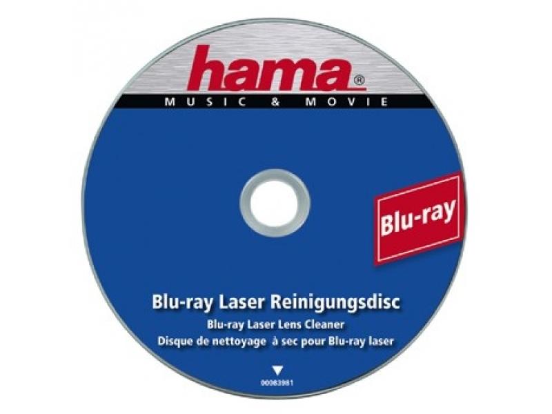 63766d90ea98 Hama 83981 čistiaci disk Blu-ray (originál Blu-ray disk ...