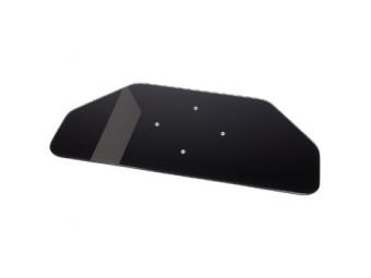 Hama 84029 otočný stojan pre TV, sklenený, čierny
