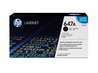 HP CE260A Tonerová kazeta Black 647A