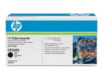HP CE260X Tonerová kazeta Black 649X, HC