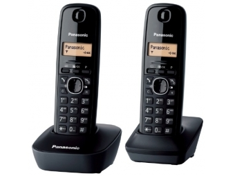 Panasonic KX-TG1612FXH Bezdr. telefón, sivá