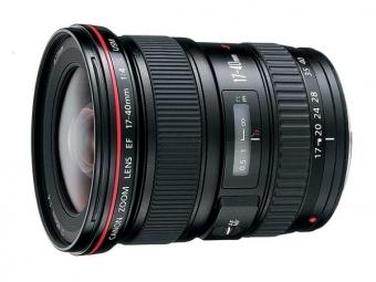 Canon EF 17-40mm f/4 L USM (pri kúpe s fotoaparátom -150€ SPÄŤ)