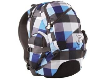 Chiemsee 102664 ruksak Techpack, Checking Black