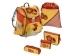 Hama 102864 Step by Step Touch, školský ruksak Sunny Flowers, 5-dielny set