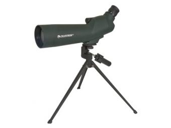 Celestron 28215040 20-60 x 60mm Zoom Refractor - 45° (52223)
