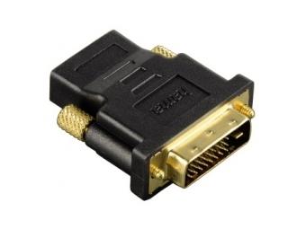 Hama 34035 redukcia DVI-D vidlica - HDMI zásuvka, pozlátená