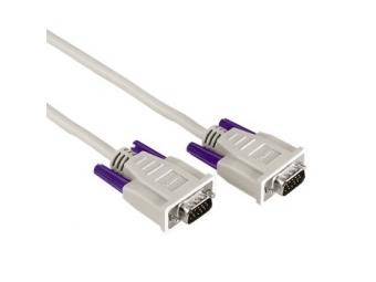 Hama 42087 Monitor-Kabel 15-pol.-HDD-Stecker - 15-pol.-HDD-Stecker, 3 m