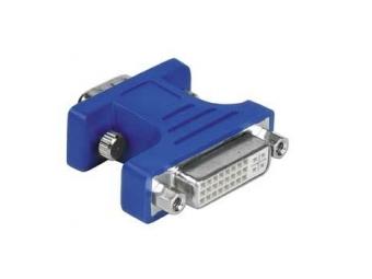 Hama 45074 Redukcia 15 pin VGA vidlica – DVI-I zásuvka