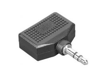 Hama 45368 rozdvojka jack vidlica 3,5 mm stereo - 2 jack zásuvky 3,5 mm stereo