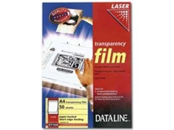 Esselte Dataline fólia A4/100mic na čb laserovú tlač (bal=100hár)