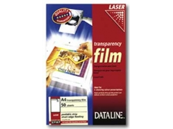 Esselte Dataline fólia A4/100mic pre farebné laserové tlačiarne A4 (bal=50hár)