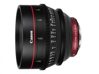 Canon CN-E 24mm T1.5L F objektív pre EOS C s bajonetom EF
