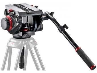 Manfrotto 509HD fluidná videohlava, nosnosť 8,5kg, 100mm polguľa