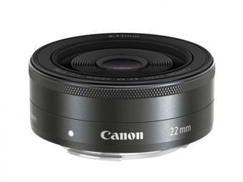 Canon EF-M 22mm f/2 STM (pri kúpe s fotoaparátom -30€ SPÄŤ)