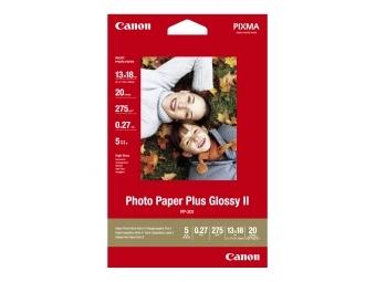 Canon PP201 Photo Paper Plus Glossy II, 13×18cm, 275g (bal=20ks)