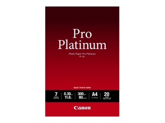 Canon PT101 Photo Paper Pro Platinum, A4, 300g (bal=20ks)