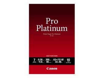 Canon PT101 Photo Paper Pro Platinum, A3+, 300g (bal=10ks)