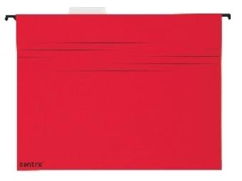 Esselte Závesný obal A4 červený (bal=25ks)