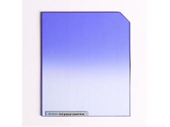84.5mm Full gradual classic Blue farebný prechodový filter