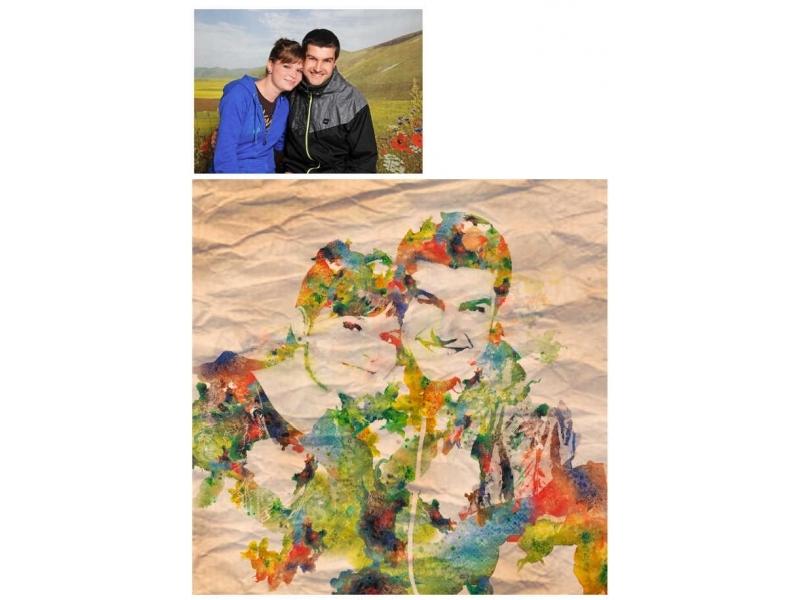 7a86e61cf Umelecká retuš POP ART portrét | Ostatné zákaznícke služby ...