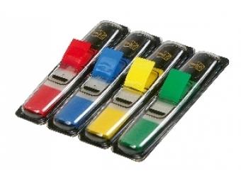 3M Post-It index úzky mix farieb, 12,5x43mm (bal=4+2)