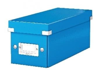 Esselte Archívna škatula na CD Click-Store so sklápacím vekom modrá
