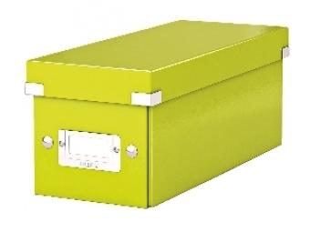 Esselte Archívna škatula na CD Click-Store so sklápacím vekom zelená