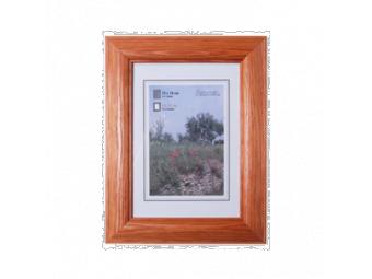 Hama 1225 drevený rám LORETA, čerešňový, 50x70 cm