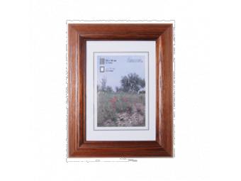 Hama 1227 drevený rám LORETA, tmavý dub, 13x18 cm