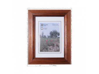 Hama 1233 drevený rám LORETA, tmavý dub, 50x70 cm