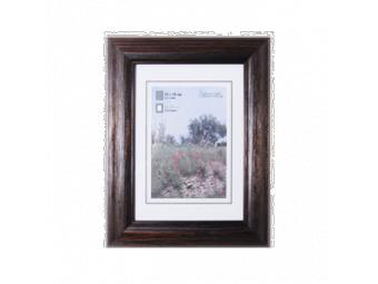 Hama 1241 drevený rám LORETA, wenge, 50x70 cm