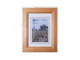 Hama 1249 drevený rám LORETA, orechový, 50x70 cm