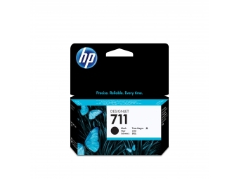 HP No.711 Atramentová kazeta Black,38ml (CZ129A)