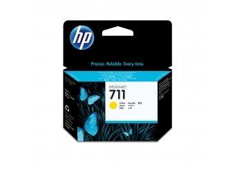 HP No.711 Atramentová kazeta Yellow, 29ml (CZ132A)