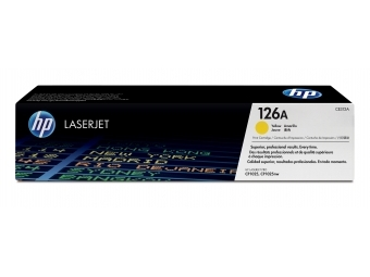 HP CE312A Tonerová kazeta Yellow 126A