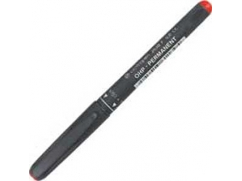 Centropen 2636F OHP-PERMANENT 0,6mm červený